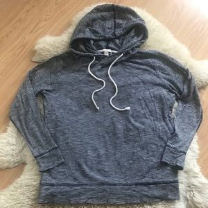 J. Crew Lightweight Hooded Sweatshirt